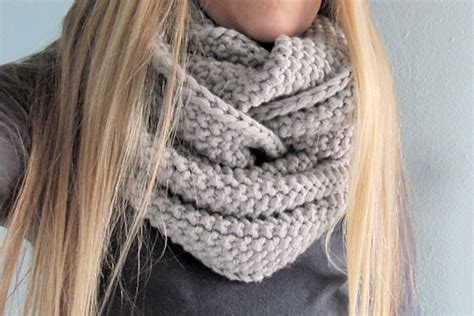 cowl pattern the infinity scarf free patterns to knit or crochet