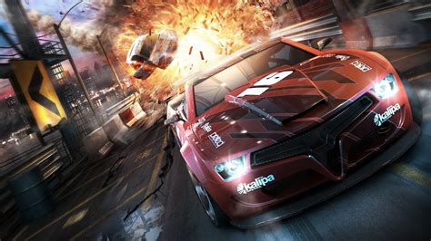 Car Explosion Wallpaper by Hd Wallpaper Split Second Sports Car Explosion Speed