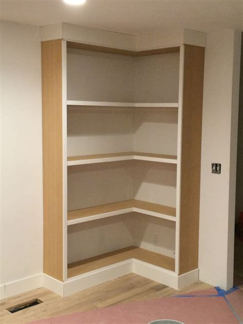 built in bookshelves diy diy corner bookcase withheart