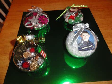 clear ornaments craft ideas clear plastic ornaments craft ideas