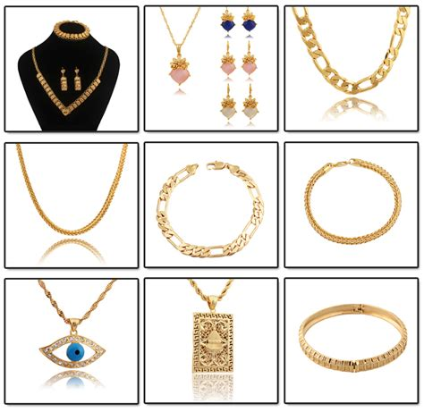 different for jewellery different types of gold necklace chains jewelry designs