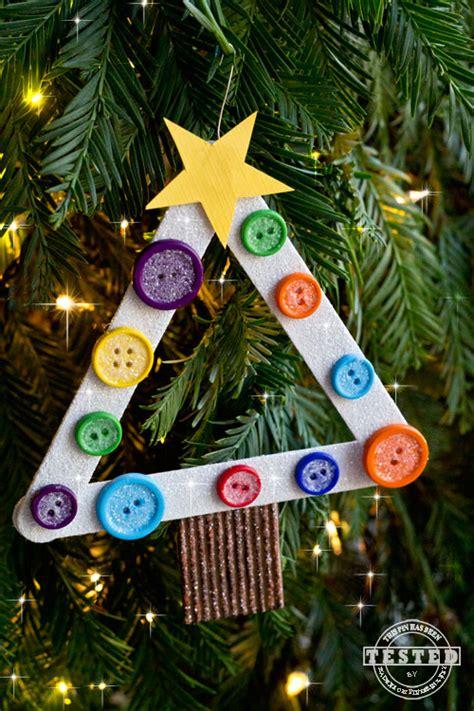 tree ornament craft ideas diy tree ornament made from