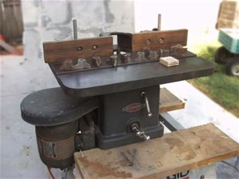 woodworking shapers for sale craftsman shaper model 101 23810