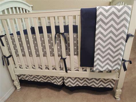 navy blue chevron crib bedding navy chevron crib bedding navy blue gray and white