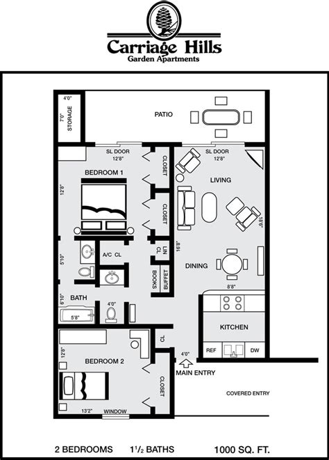 floor plan for 500 sq ft apartment is 1000 sq ft apartment small theapartment