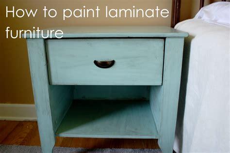 s details how i paint laminate furniture