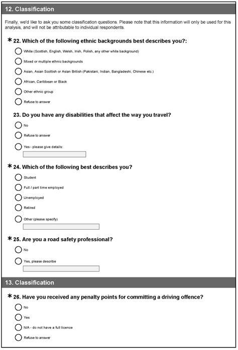 9 survey questionnaire letter template word