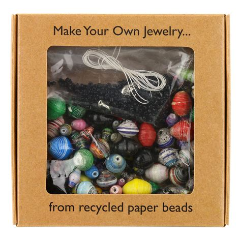 Make Your Own Recycled Paper Jewelry Kit The Animal