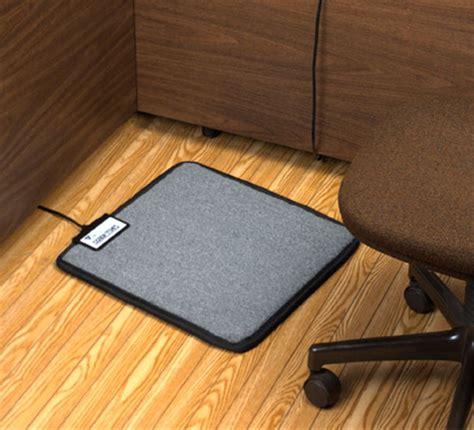 heated floor mat desk foot warmer mat for your desk