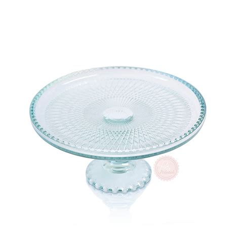beaded cake stand sea blue beaded cake stand pretty pedestals