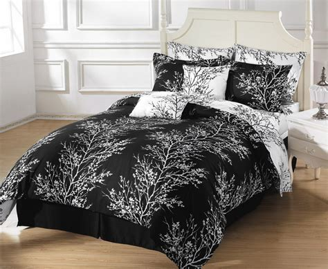 black bedding sets luxurious black and white comforters for your bedroom