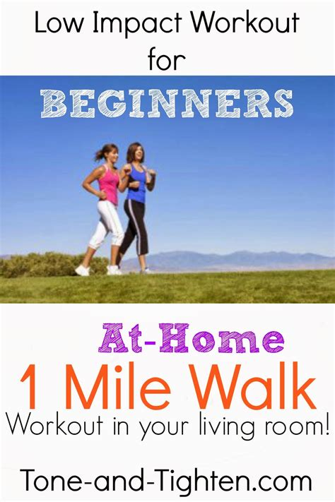 at home for beginners low impact beginners workout at home 1 mile walk