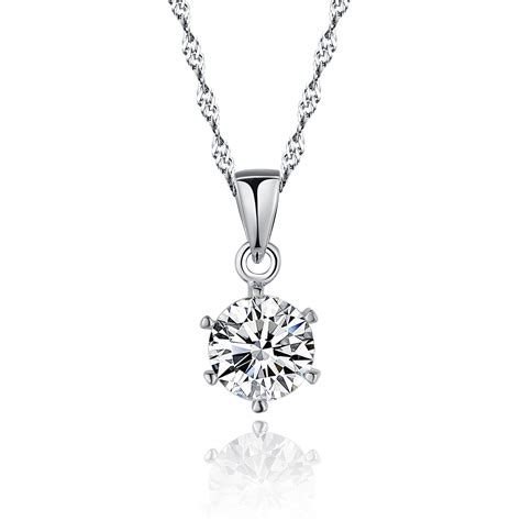 picture pendants jewelry sterling 925 silver pendant necklace jewelry set with