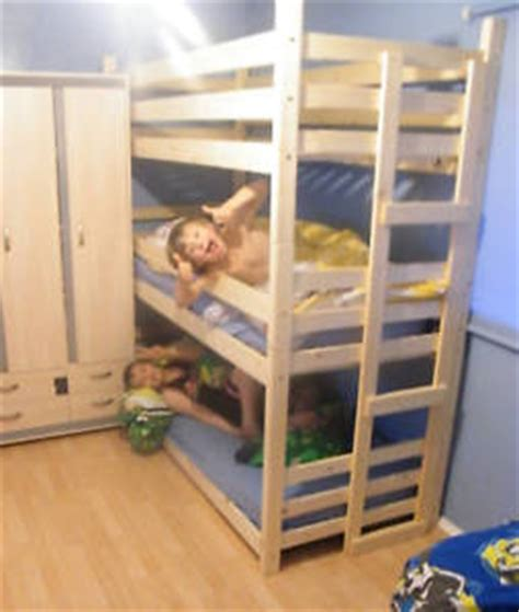 3 high bunk beds bunk beds tri bunk bed 3 high bunk beds two widths