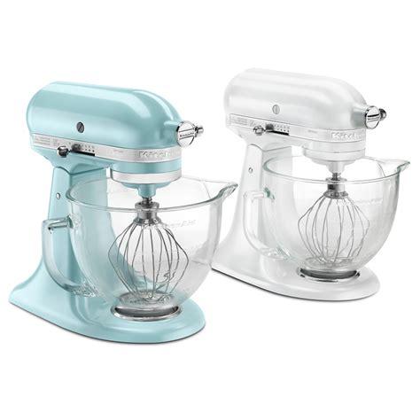 designer kitchen aid mixers kitchenaid ksm155gbeb artisan designer series