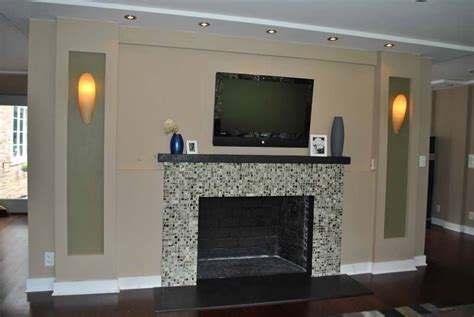 paint colors for fireplace ideas fireplace mantel wall paint ideas with light