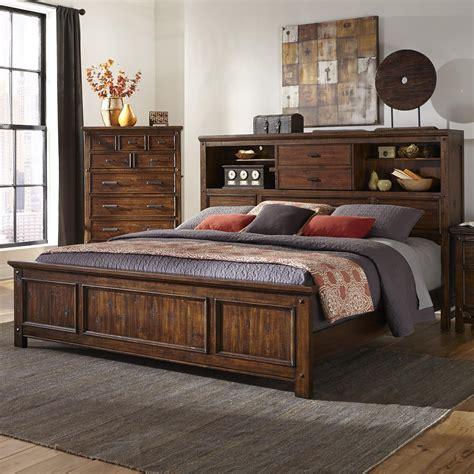 intercon wolf creek queen bookcase bed wayside furniture