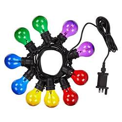 outdoor coloured lights buy lewis festoon outdoor coloured line lights multi