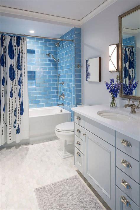 white and blue bathroom ideas best 25 blue bathroom tiles ideas on
