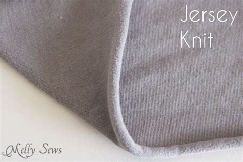 types of knits types of knit fabric melly sews