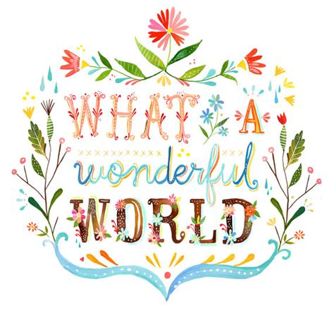 wonderful world monday inspiration quotes louis armstrong what a