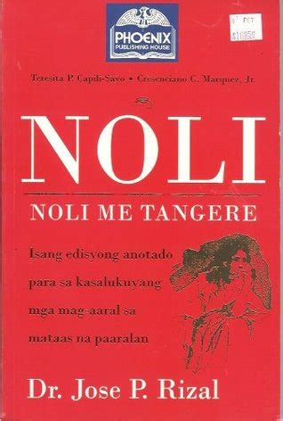picture of noli me tangere book noli me tangere by cresenciano c marquez jr reviews