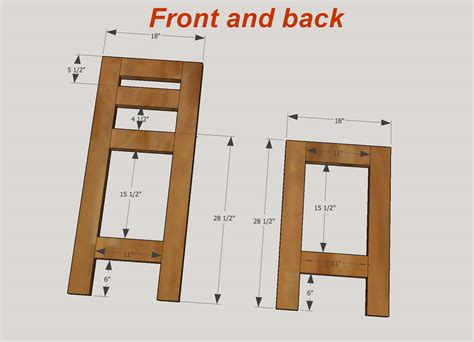 bar stool woodworking plans how to make bar stools