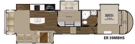 bunkhouse fifth wheel floor plans heartland elkridge fifth wheels bunkhouse models
