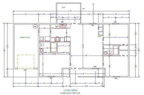 floor plans with measurements floor plans measurements house plan architecture plans 31352