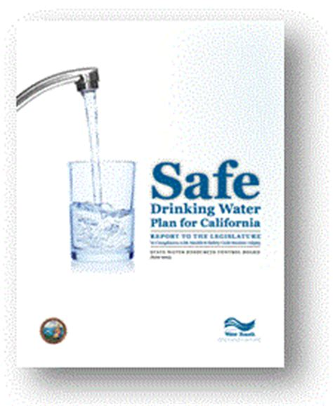 are water safe safe water plan california state water quality