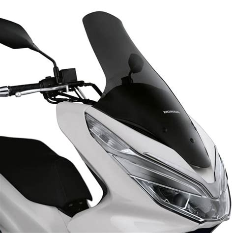 Pcx 2018 Aksesoris by High Windscreen Kaca Depan Honda Pcx Aksesoris Resmi Honda