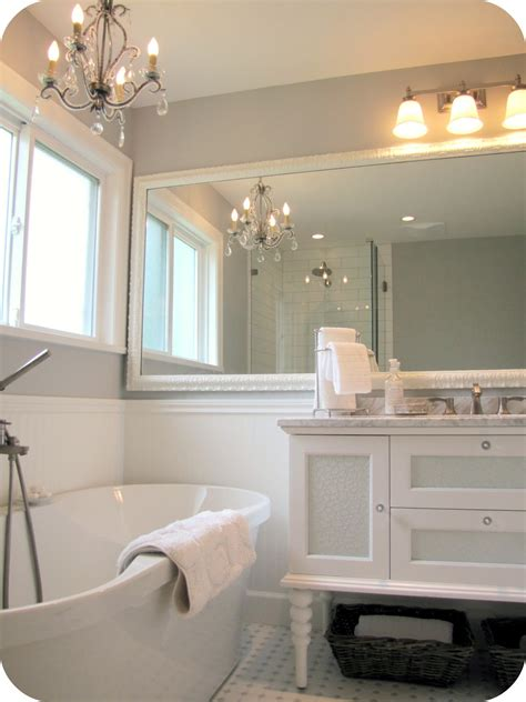 white grey bathroom ideas marvelous white wooden wall mounted mirror frame also white dreser vanity sink as well as white