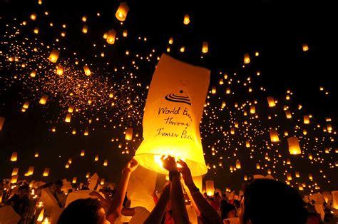 lights lanterns sky lanterns light up iloilo sky the kevincibles
