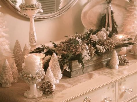 Centerpiece Ideas For Kitchen Table christmas vignettes