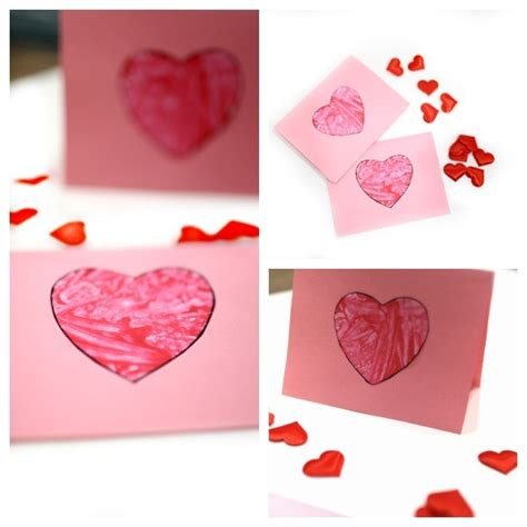 easy to make valentines cards toddler valentines day cards ted s