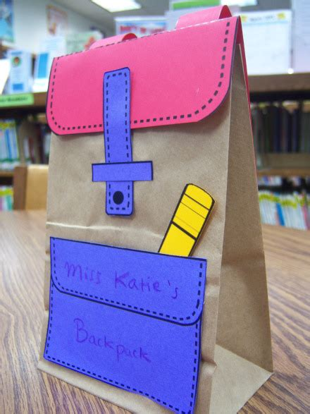 school crafts back to school storytime