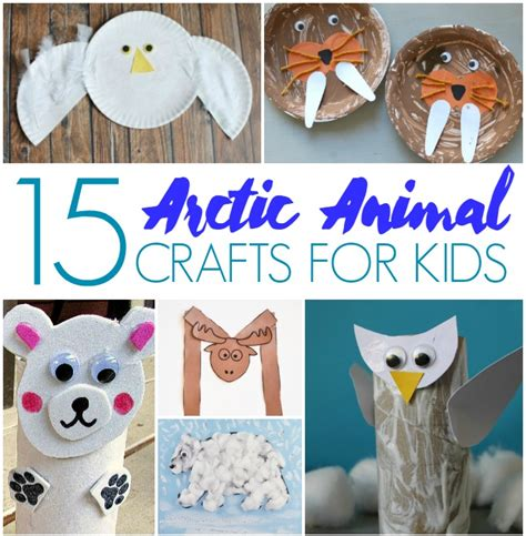 arctic crafts for 15 arctic animal crafts for crafts on sea