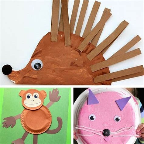 paper animals craft 40 animal paper plate crafts for the