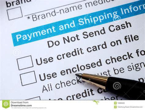 make credit card make payment with credit card or check royalty free stock