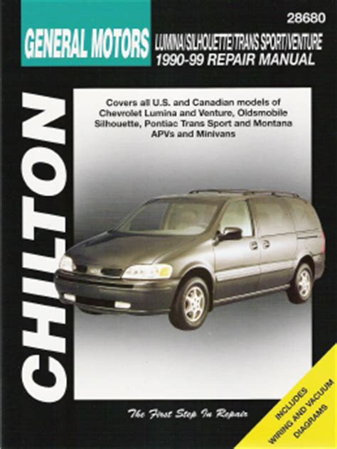 best auto repair manual 2000 chevrolet venture on board diagnostic system 1990 1999 chevrolet lumina venture olds silhouette pontiac trans sport montana apv s