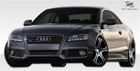 08 Audi S5 by 08 16 Audi A5 Convertible S5 Look Duraflex Front Kit