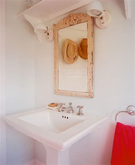 shabby chic bathroom mirrors shabby chic bathroom photos 6 of 6 lonny