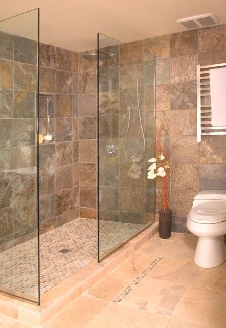 shower stall designs without doors open shower without door asian bathroom seattle by
