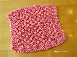 knitted washcloths t matthews free knitting pattern raspberry