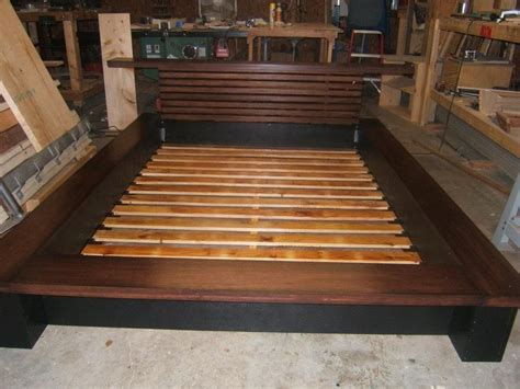 how to build a california king bed frame king platform bed frame plans pdf diy platform bed plans