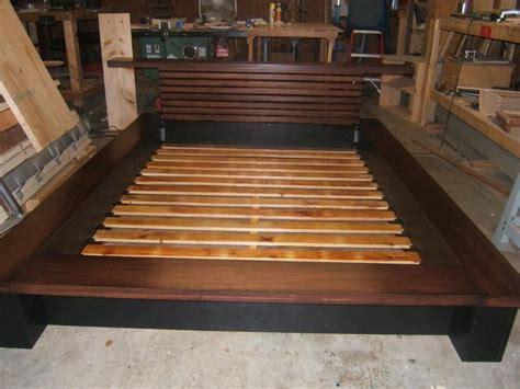 king size bed frame plans bedroom building a king size bed frame plans diy