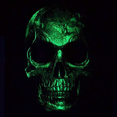 metal skull heavy metal skull with
