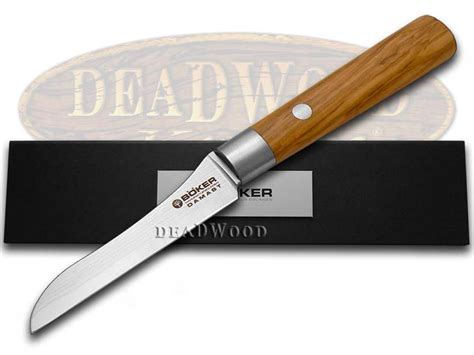 boker kitchen knives boker tree brand premium kitchen cutlery olive wood damascus vegetable knife