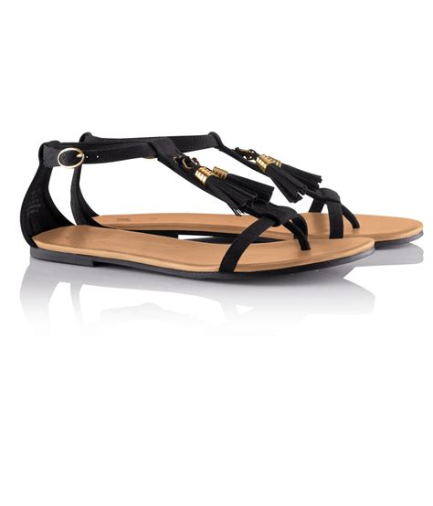 sandals with h m sandals in black lyst