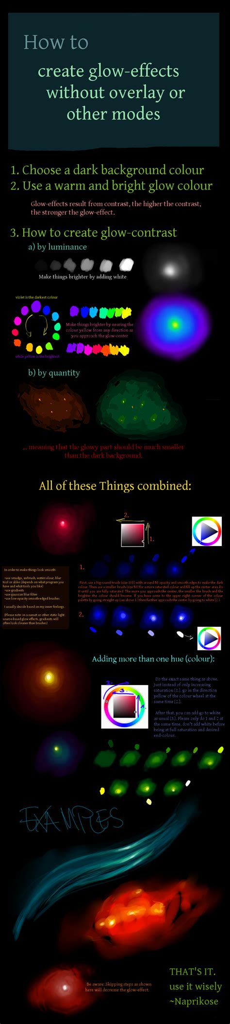 paint tool sai glow effect tutorial tutorial glow effects by naprikose on deviantart